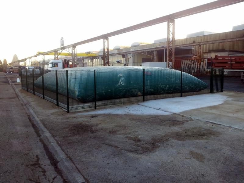 Stockage en toile PVC pour l'industrie